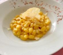 Alessandra Borelli: Gnocchetti gorgonzola zafferano e parmigiano gratinato