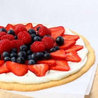 RED + WHITE + BLUE : Berry Tart