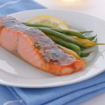Four ingredients and ten minutes to this brown sugar glazed salmon with fresh dill and a punch of Dijon mustard; and it's broiled so you don't heat the house up.