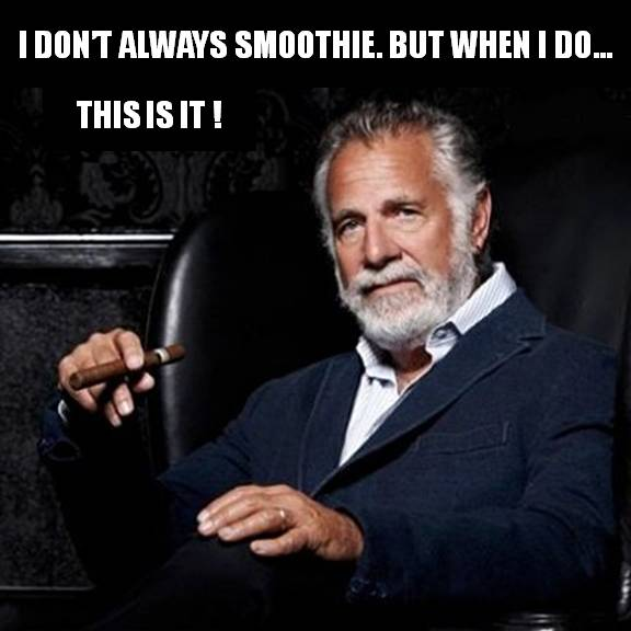 The World's Most Interesting Smoothie The only smoothie recipe you'll ever need. It's healthy AND tasty.