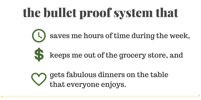 I developed a bullet proof system. - Chef in the Burbs
