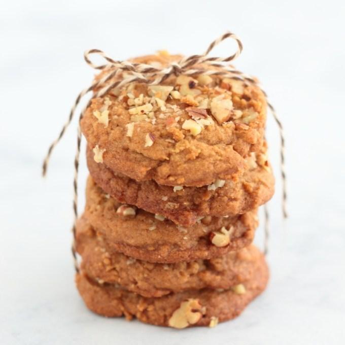 Brown Sugar Spice Pecan Cookies