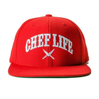 Chef OG Snapback Red