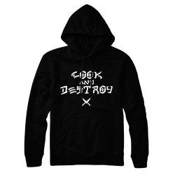 Cook-Destroy-Hoodie-Black