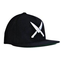 2 Knive Crew Black Angled
