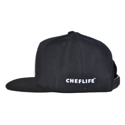 2 Knives Crew black snapback chef life