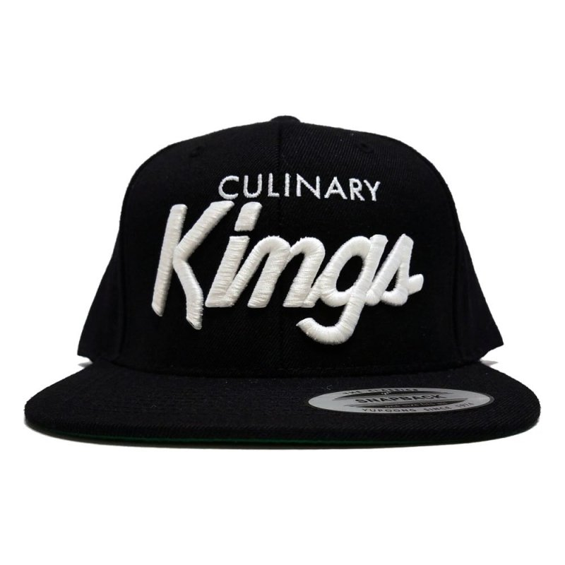 Culinary Kings Snapback Black
