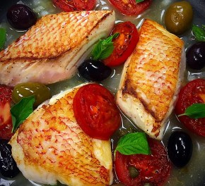 Rustic Red Snapper