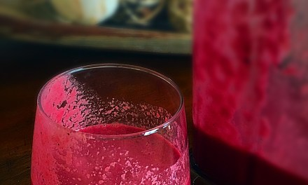 Beet & fruit smoothie