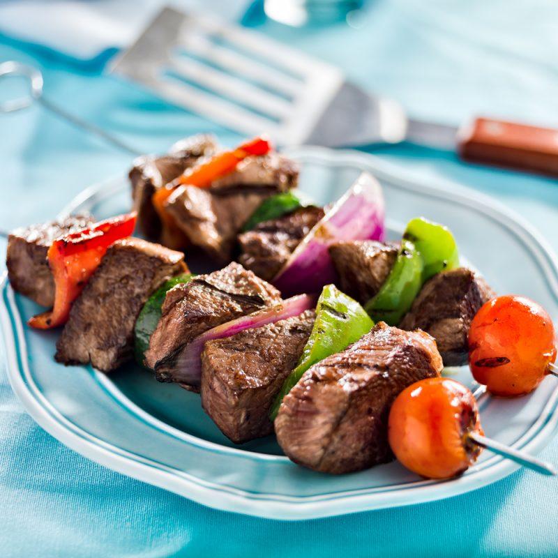 Resipi yang indah untuk memasak Kebab BEEF