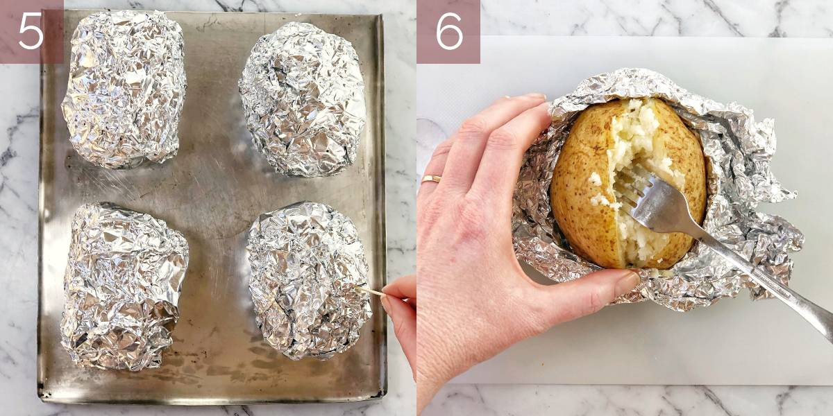 images showing step-by-step how to make recipe