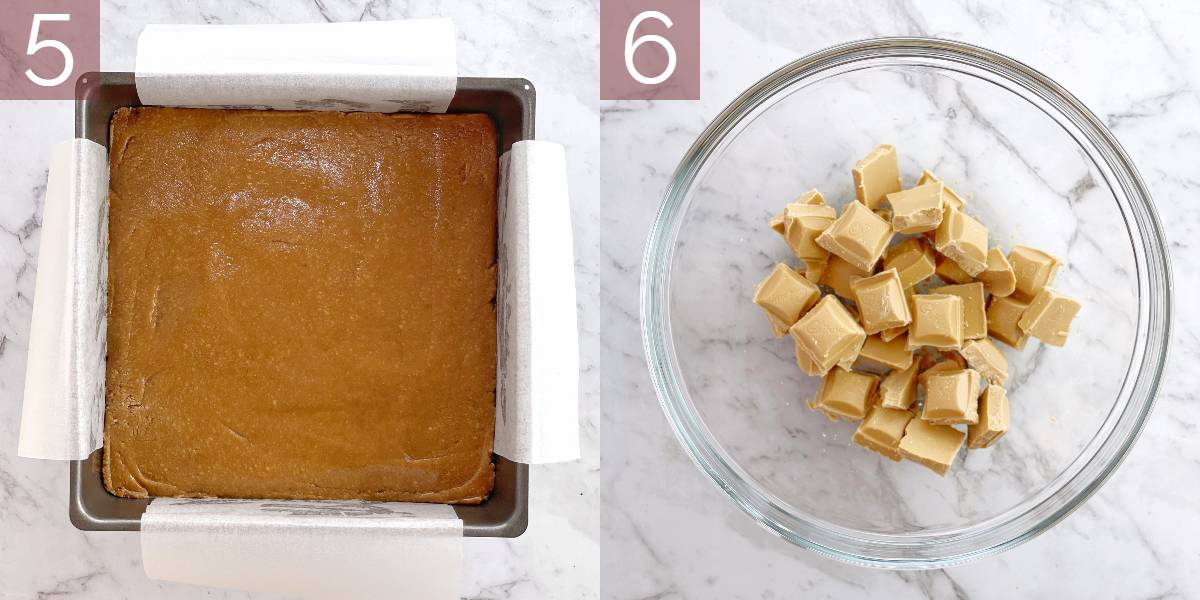 photos showing process of making this recipe