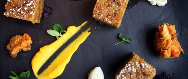 cheltenham park hotel open day blog food slate