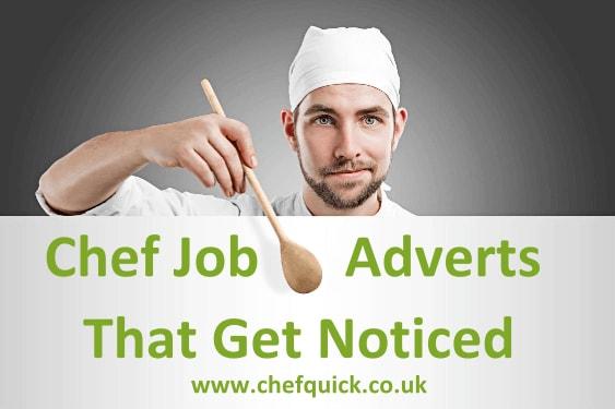 Free Chef Job Adverts