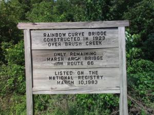 Rainbow Bridge commemorative marker