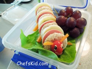 Hungry Caterpillar Sandwich by Chefskid.com