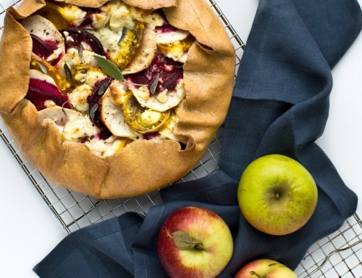 Apple and Beetroot Galette Recipe
