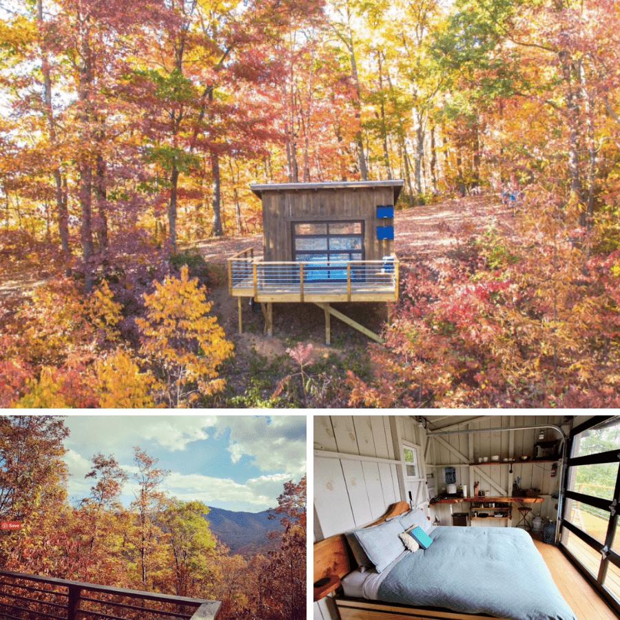 3. Romantic Cabins in Asheville NC