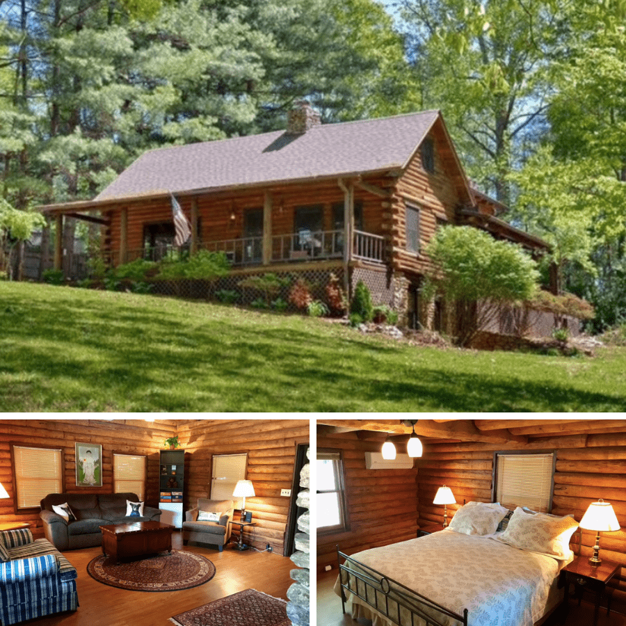 5. Pet Friendly Cabins in Asheville NC