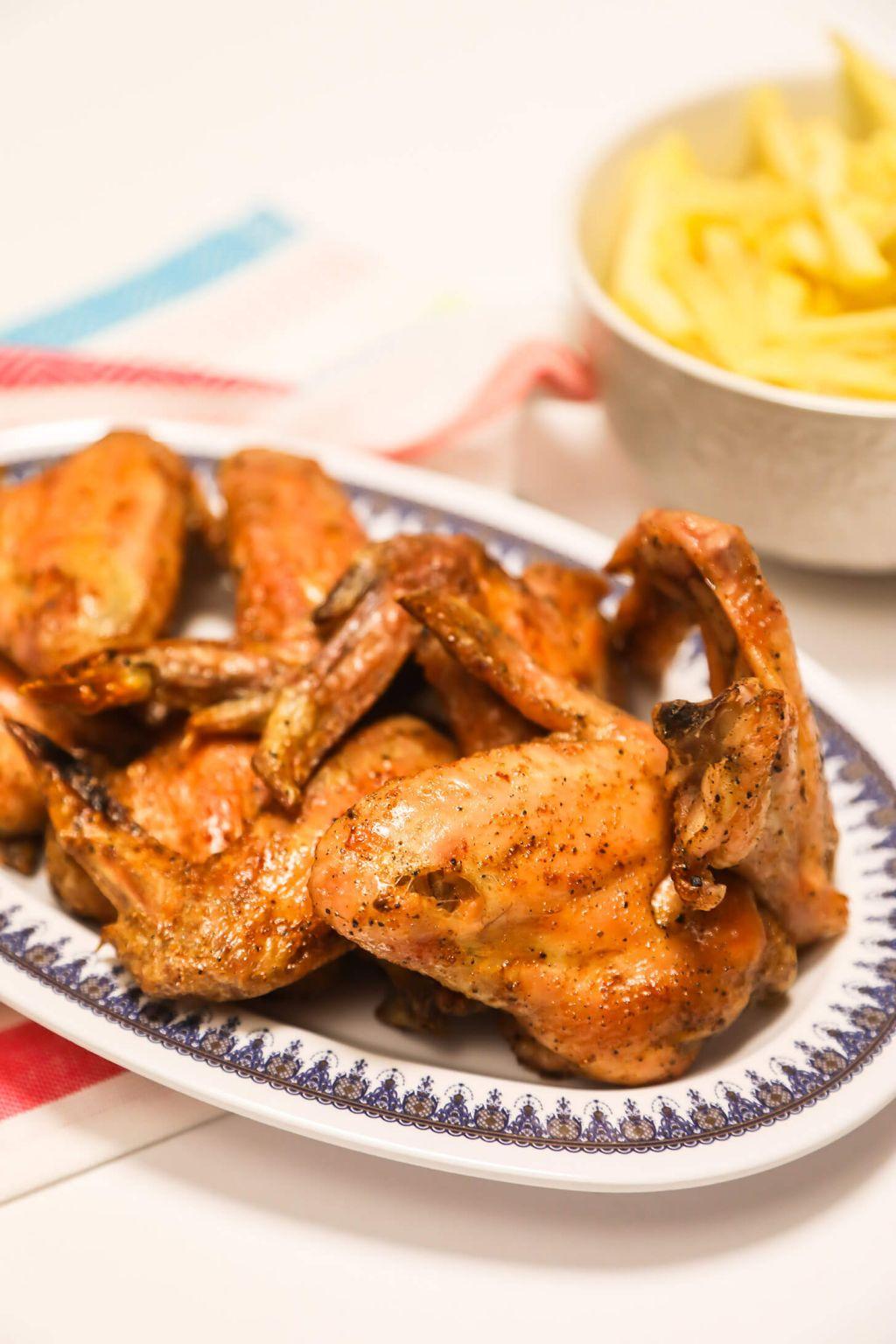 salt and vinegar wings