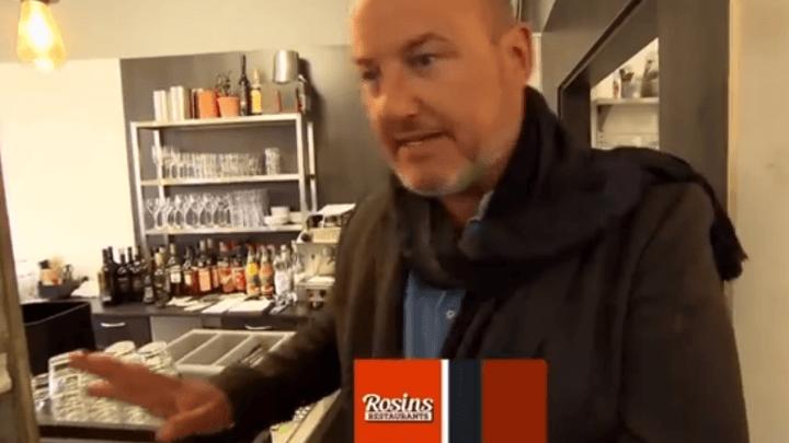 Frank Rosin verliert einen Knopf und will die ganze TV Produktion absagen !