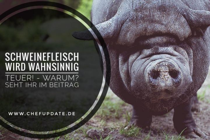 Schweinefleisch wird wahnsinnig teuer! – Warum? Seht ihr im Beitrag