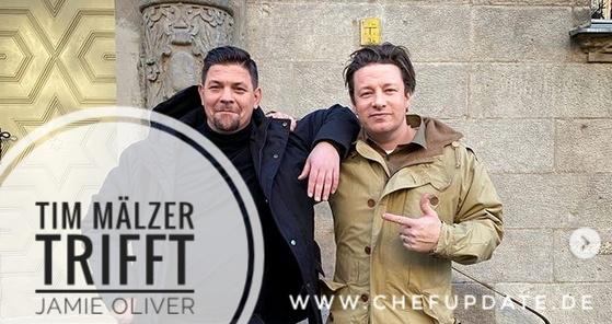 Tim Mälzer trifft Jamie Oliver – Eine 25 jährige Freundschaft! Was hat sein Podcast damit zu tun hat?