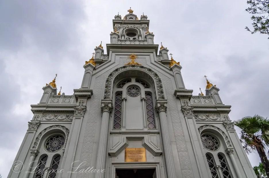 Facciata di Sveti Stefan Kilisesi a istanbul