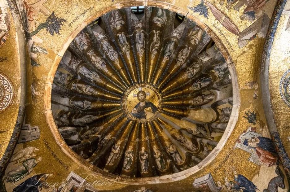 mosaico bizantino in san salvatore in cora a istanbul