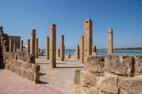 tonnara nella riserva di vendicari in sicilia