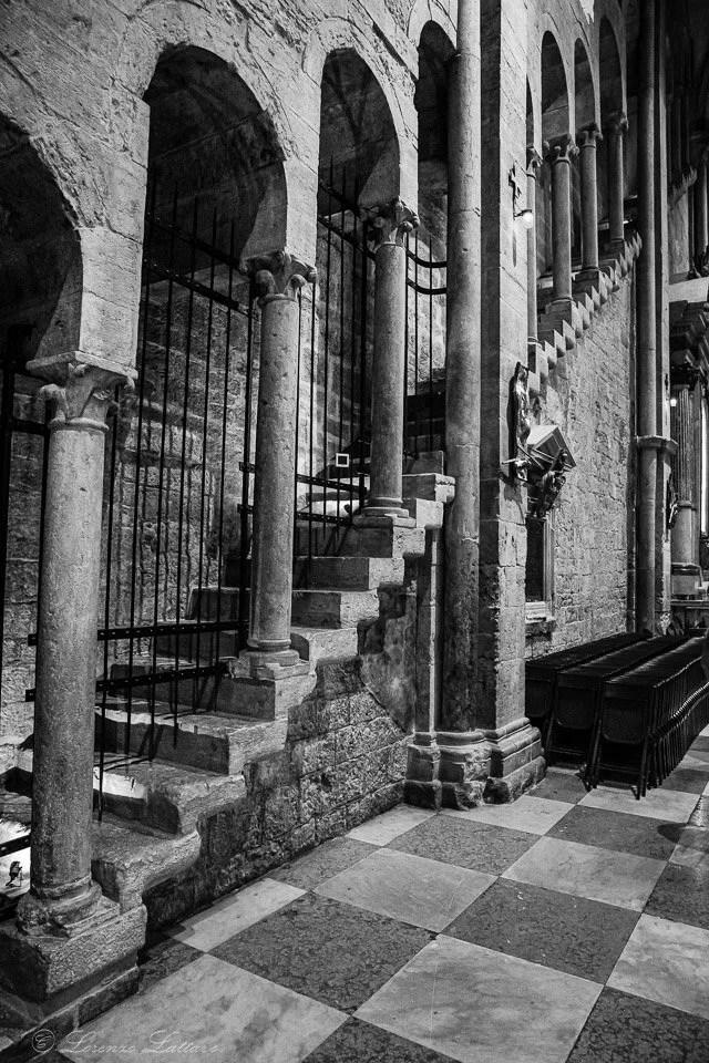 interno del duomo, cattedrale di san virgilio a trento