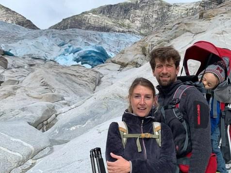che il viaggio abbia inizio al ghiacciaio Nigarsbreen