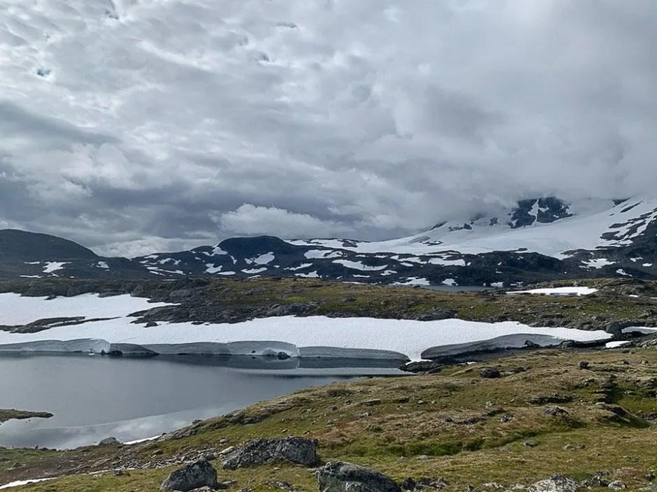 Neve nello Jotunheimen Nasjonalpark