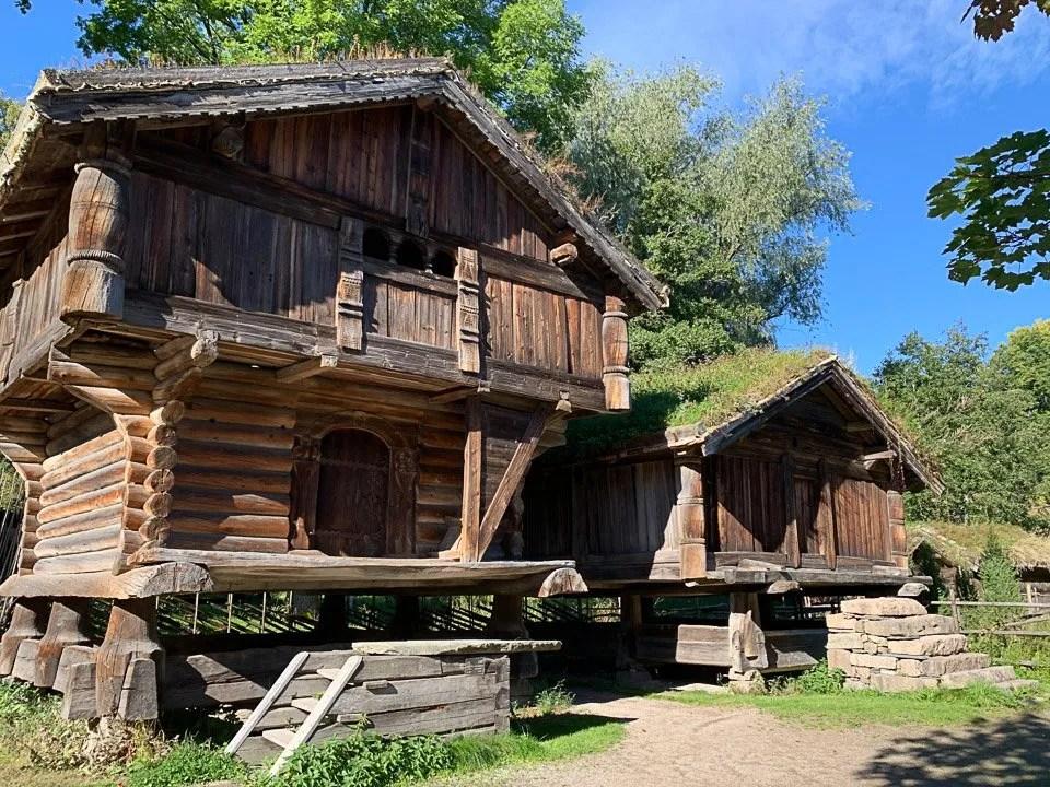 abitazioni al Norsk Folk Museum