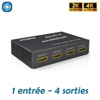 Splitter HDMI 4K