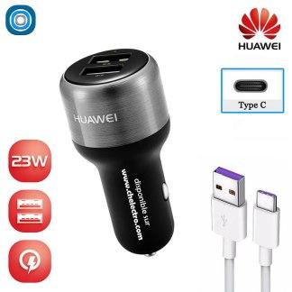 Chargeur USB C voiture