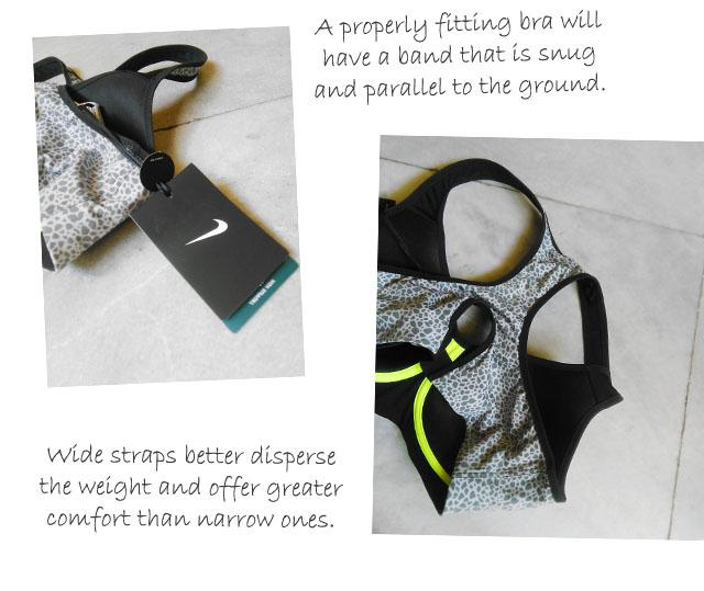 choosing a sports bra for running