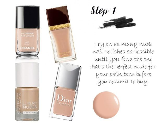 how-to-do-mannequin-nails-step-one