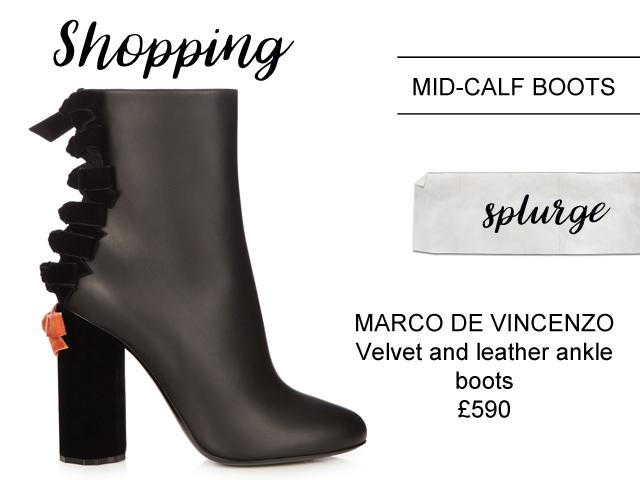 ankle boots splurge vs save