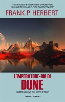 L'imperatore-dio di Dune libro fantascienza saga space opera quarto romanzo ciclo di Dune di Frank P. Herbert