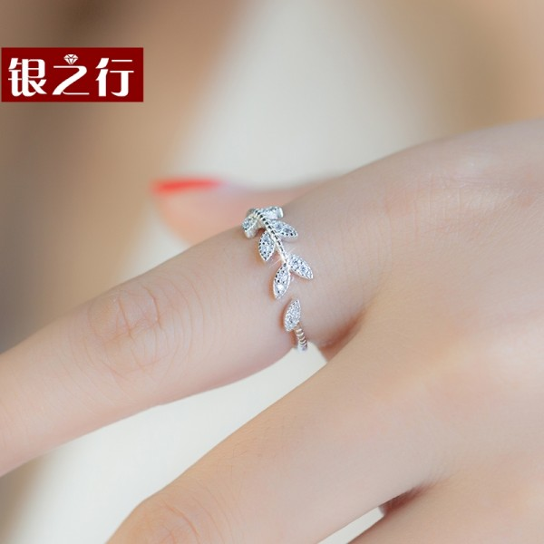 Silver Line S925 Silver Ring Opening Of Female Japanese And Korean Wave People Index Finger Ring A Birthday Present For His Girlfriend Rings Watches Jewelry Chinese Online Shopping Mall At