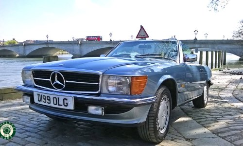 1987 Mercedes 500 SL For Sale