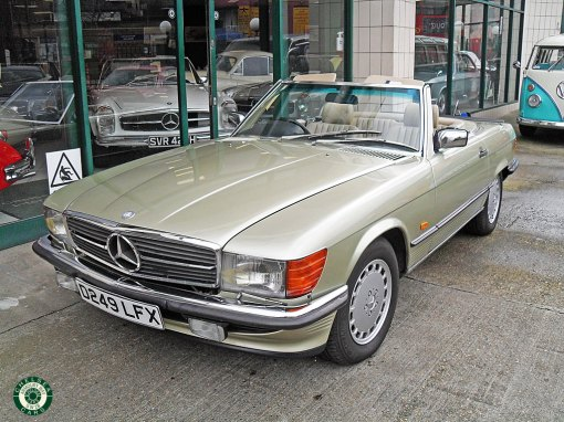 1986 Mercedes 300 SL For Sale