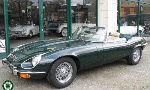 1973 Jaguar E type Series 3 For Sale