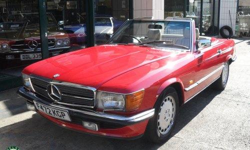 Photo 1988 Mercedes Benz 500SL For Sale