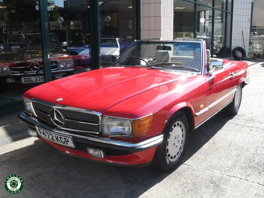 Photo 1988 Mercedes Benz 500SL For Sale