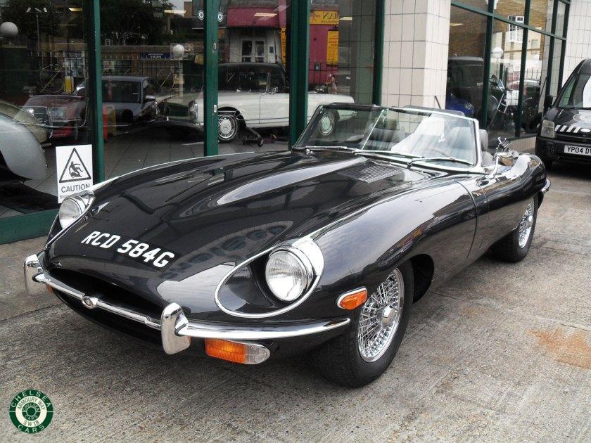 Photo 1969 Jaguar E Type 4.2 Roadster For Sale