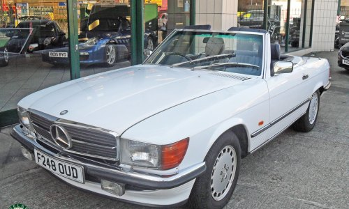 Photo 1989 Mercedes Benz 420SL For Sale