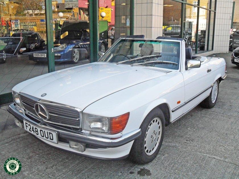 Photo 1989 Mercedes Benz 420SL For Sale