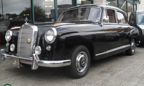 Photo 1957 Mercedes 219 'Ponton' Saloon For Sale